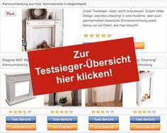 Kaminumrandung und Kaminkonsole - Testsieger-Tabelle - Stoerer