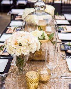 Loving @organicelements centerpieces for @firstcomeslovesd's very own @ruthiedoldmalak's wedding at #SDMA. #sequin #runner #linens #florals #gold #black #classy #wedding #reception #sandiego #eventdesign #decor #centerpiece #weddingplanning #weddinginspiration #instawedding #table #dining #weddinginspo #decorideas #decor #weddingdetails #firstcomeslove #organicelements #conceptseventdesign #weddingwednesday #truephotography #balboapark #socal