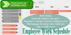 [ThemeForest]Free nulled download Employee Work Schedule / Multi-calendar from http://zippyfile.download/f.php?id=42765 Tags: ecommerce, admin, calendar, edit, employee, employee-work-schedule, hour calculation, javascript, multi calendar, mysql, php, planner, schedule, spaces, work schedule