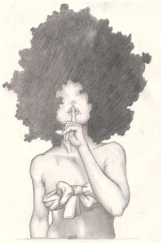 Hair speaks volumes... >>>>Dope Art<<<<