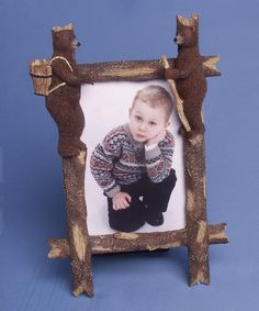 Look what I found on #zulily! Bears & Trees Frame #zulilyfinds