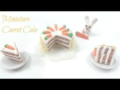 how to: miniature carrot cake