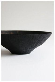 Cerámica de Masahiro Endo #diseño #negro