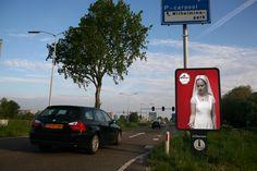 Droste campaign: Mupi Delft by Huub van Osch #vOSCH #huubvanosch #blahblahism #amsterdam #Droste