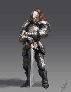 Another knight concept., Victor Lozada on ArtStation at https://www.artstation.com/artwork/another-knight-concept