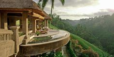 Viceroy Bali: Set amid stepped rice fields, the Viceroy stands guard over the Petanu River gorge.