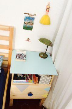 TARVA bedside table #ikeahack