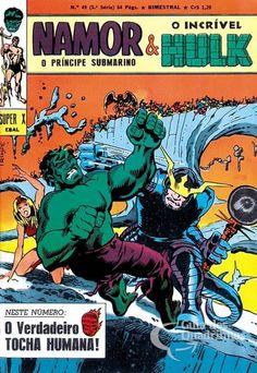 Príncipe Submarino e O Incrível Hulk (Super X) n° 49 - Ebal