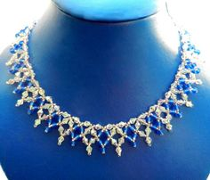 Free pattern for necklace Sky Light Click on link to get pattern - http://beadsmagic.com/?p=5785
