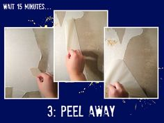 Step-by-step tutorial on how to remove wallpaper