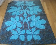 traditional+hawaiian+quilt+patterns | Hawaiian quilt # 3 by Mary Geehan | Quilting Ideas