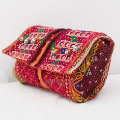 Banjara Clutch Bag Trendy Clutch Vintage Clutch Bag by Moomal, $59.99