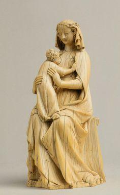 Virgin and Child (ca. 1335-40, ivory, Museum Mayer van den Bergh, Antwerp)