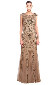 Adrianna Papell Beaded Tulle Cap Sleeve Formal Evening Gown Dress Adrianna Papell http://www.amazon.com/dp/B00VTYPJ6Q/ref=cm_sw_r_pi_dp_63glvb1J5PR0Q