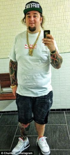 Chumlee! Pawn Stars' Austin 'Chumlee' Russell has lost 75lbs thanks to his chef girlfriend Tany Hyjazi. via dailymail.co.uk