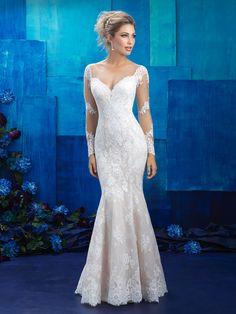 Allure Bridals style 9424 #BridalDebut #WeddingPlanning #AllureBridal #BridalGown #WeddingGown