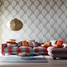 Products | Harlequin - Designer Fabrics and Wallpapers | Blaze (HMOU130646) | Momentum 3 & 4