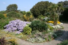The Rock Gardens, Southsea, in late spring.