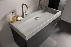 Wastafel Van Beton : Beste afbeeldingen van betonnen wastafel