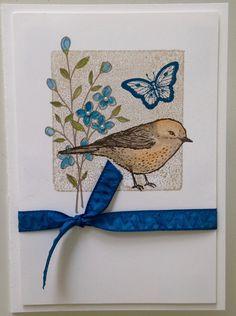 Stampin' Up! Best Birds & Birds & Blooms Thinlits. www.facebook/lizinkspirations.co.uk