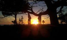 Scorcio di tramonto Praiese