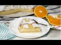 CROSTATA ALL'ARANCIA SEMPLICE E GOLOSA - YouTube Ricotta, Waffles, Sweets, Puddings, Breakfast, Desserts, Youtube, Cakes, Food