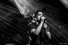 Ray Alder of Fates Warning - concert in Krakow, Poland, Nov 2014