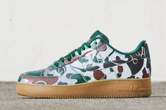 Nike iD Adding 7 Camo Options for the Air Force 1-
