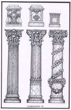 Interesting Find A Career In Architecture Ideas. Admirable Find A Career In Architecture Ideas. Architecture Antique, Detail Architecture, Roman Architecture, Classic Architecture, Architecture Drawings, Architecture Romaine, Baroque Frame, Roman Columns, Roman Art