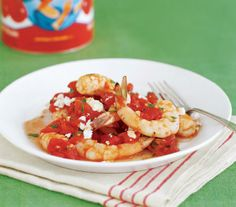 Shrimp a la Grecque: Whip up this Mediterranean-inspired seafood dish in less than 20 minutes.