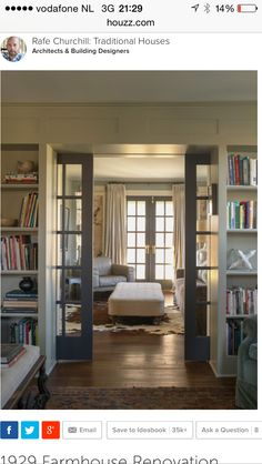 Interior Sliding Glass Pocket Doors french pocket doors with transom window above | dream home