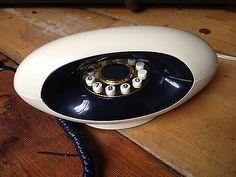 Genuine vintage / retro, BT Genie Clamshell Telephone / Phone, 1980's