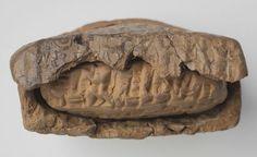 Cuneiform Tablet and Envelope: Old Assyrian Letter   Harvard Art Museums