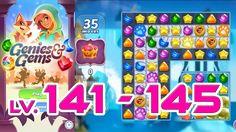 Genies & Gems - Level 141 - 145 (1080p/60fps)