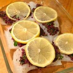 Baked Cod with Sun-Dried Tomato, Caper and Olive Tapanade - The Lemon Bowl