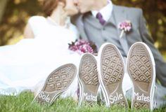 Tênis para noivas Converse: preço, fotos