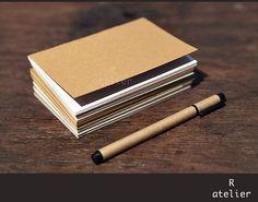 $8 | Midori Traveler's Passport | Pack of 4 Notebook Refills #midori #notebook #stationery