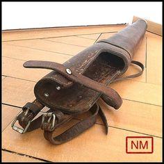 Vintage Swiss Army Rifle Case for Horses   Gun by NaturaMachinata