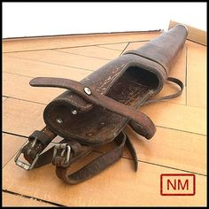 Vintage Swiss Army Rifle Case for Horses   Gun by NaturaMachinata