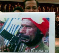 Mr.J.J Kelly Kwalik      oleh sebabnya rakyat papua barat menyatakan kepada  bahasa melayu indonesia harus dan harus keluar dari tanah leluhur bangasa papua barat. kini saatnya FREE WEST PAPUA.