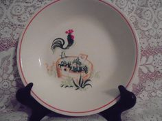 Paden City Pottery made in the USA 1940's Provincial by apennylife