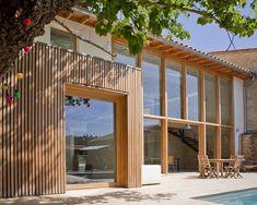 Prix national de la construction bois - PNCB 2014 - Une ancienne remise devenue villa