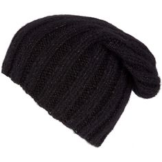 5c14b480c9ffb Grevi Copper Chunky Knit Beanie Hat ( 79) ❤ liked on Polyvore featuring  accessories