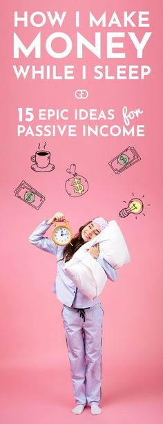 Looking for passive income ideas? These are real ways for you to make money while you sleep no matter what your passion, experience, or skill-set are. These 15 passive income ideas that will help you to make extra money and increase your wealth! Pick the ideas and money tips that fit your skill set and make this an epic year!