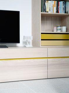 Enebolig, Tønsberg - Nyfelt og Strand Interiørarkitekter Tv Cabinets, Home Furniture, Flat Screen, House, Design, Home Decor, Blood Plasma, Decoration Home, Home Goods Furniture