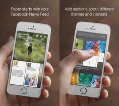 Facebook Paper now available for iPhone in the US.