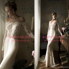 2015 Off The Shoulder Mermaid Wedding Dresses Lace Mermaid Wedding Dresses | Buy Wholesale On Line Direct from China