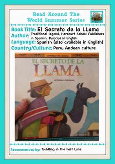 Toddling in the Fast Lane: Read Around the World: El Secreto de La LLama