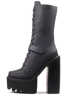 Jeffrey Campbell Shoes DIVERSITY Platforms in Black