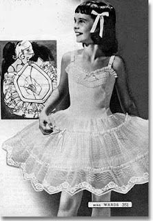 Suzanne's Crazy For Collars: More on The Inflatable Petticoat! Teen Girl Fashion, Teen Girl Outfits, 60 Fashion, Little Girl Outfits, Colorful Fashion, Vintage Fashion, Vintage Underwear, Vintage Lingerie, Teen Lingerie